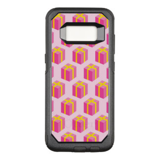 Background with gifts OtterBox commuter samsung galaxy s8 case