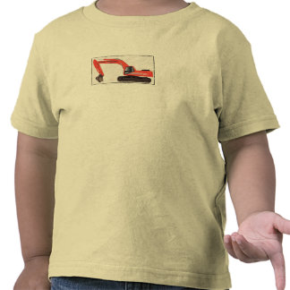 Backhoe by Baby Boy Wrecking Co Tee Shirts