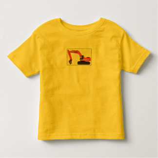 Backhoe by Baby Boy Wrecking Co. Toddler T-Shirt