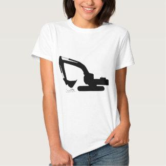 backhoe tshirt
