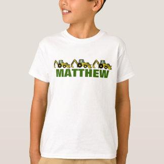 Backhoes for Matthew T Shirt
