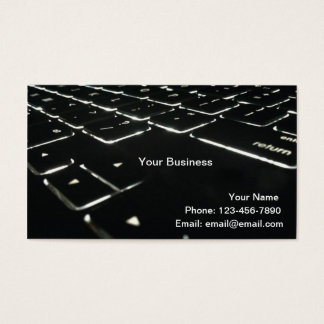 Backlit Business Card