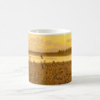 backlit by the lake magic mug