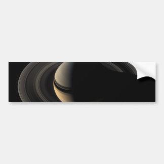 Backlit_Saturn_from_Cassini_Orbiter_2007_May_9 Bumper Stickers