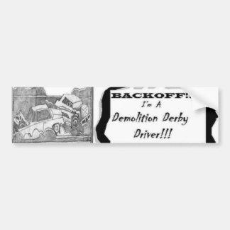 backoff bumper sticker