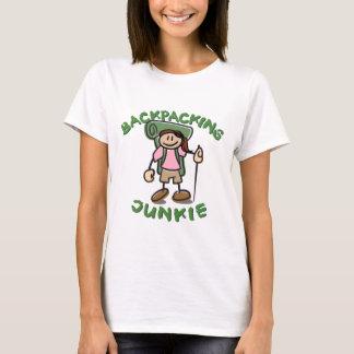 Backpack Junkie - Girl T-Shirt