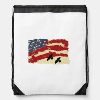 backpack with american flag design