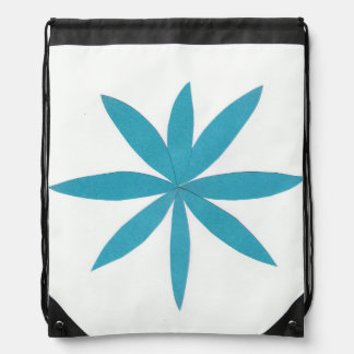 Backpack with Turquoise Stars