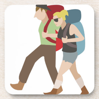 Backpackers Drink Coaster