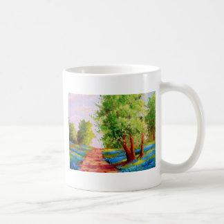 Backroad Bluebonnets Coffee Mug