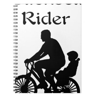 Backseat Rider Spiral Notebook