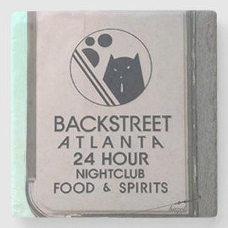 Backstreet, Atlanta Marble Stone Coaster. Stone Coaster