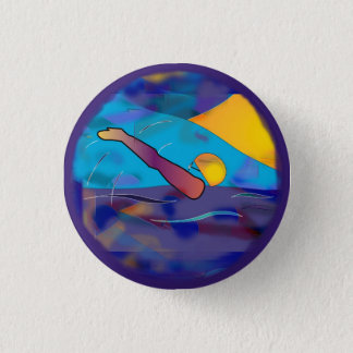Backstroke Round Button