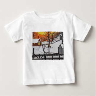 Backwoods Cabin Baby T-Shirt