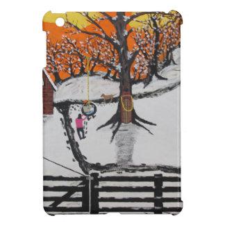 Backwoods Cabin iPad Mini Cover