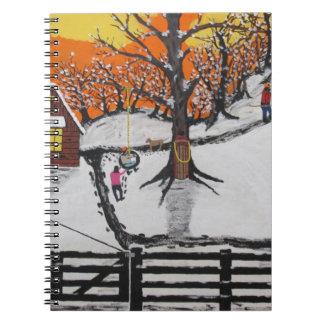 Backwoods Cabin Notebook