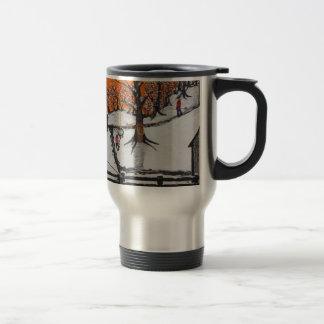 Backwoods Cabin Travel Mug
