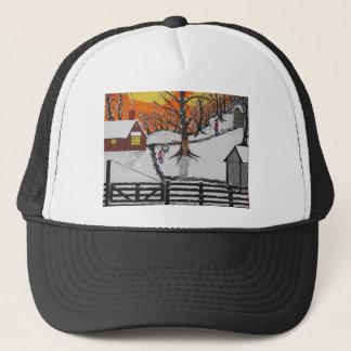 Backwoods Cabin Trucker Hat