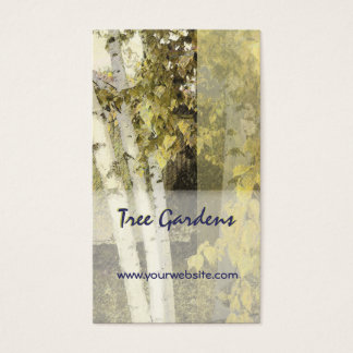 Backyard Birch Harmony Business Card
