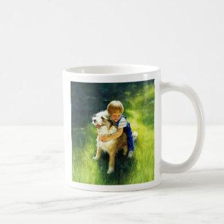 Backyard Buddies Classic White Coffee Mug