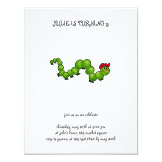 Backyard Buggies · Caterpillar with Red Hat Card