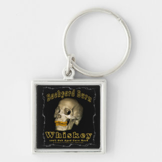 Backyard Burn Whiskey Key Ring