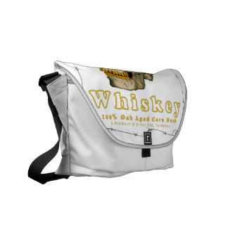Backyard Burn Whiskey Messenger Bag