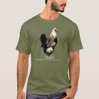 Backyard Chicken Farmer with Rooster Design T-Shirt