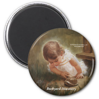 Backyard Discovery 6 Cm Round Magnet