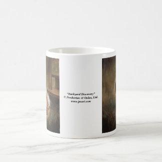Backyard Discovery Classic White Coffee Mug