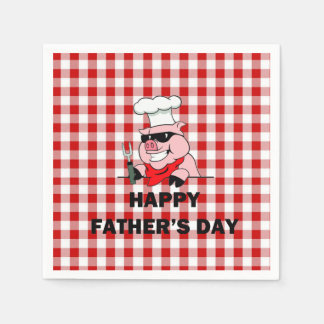 Backyard Shenanigans Father's Day Party Paper Napk Paper Napkin