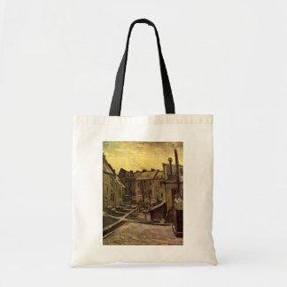 Backyards of Old Houses, Antwerp; Vincent van Gogh Tote Bag