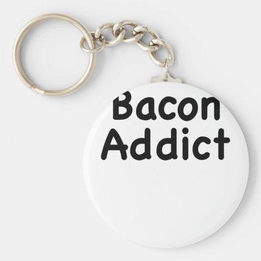 Bacon Addict Key Chain