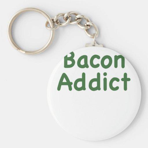 Bacon Addict Keychain