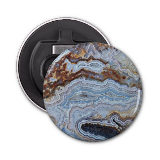 Bacon Agate Pattern Bottle Opener