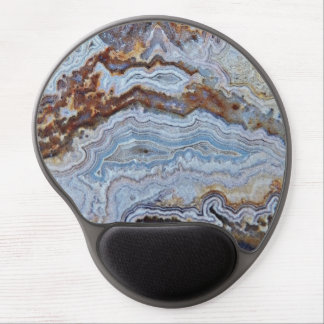 Bacon Agate Pattern Gel Mouse Pad
