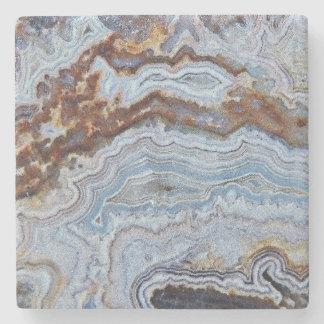 Bacon Agate Pattern Stone Coaster