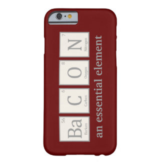 Bacon, an essential element barely there iPhone 6 case