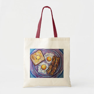 BACON AND EGGS CANVAS BAG