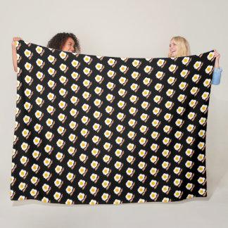Bacon and Eggs Fleece Blanket