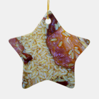 Smoke christmas tree decorations baubles for Bacon christmas tree decoration