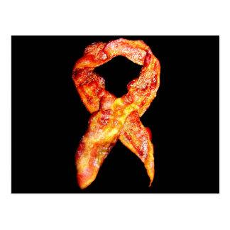 Bacon Awareness Ribbon Post Cards