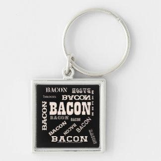 Bacon Bacon Bacon Keychains