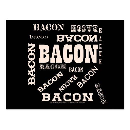 Bacon Bacon Bacon Postcards