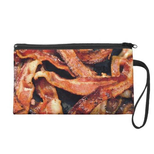 Bacon Wristlet Purses