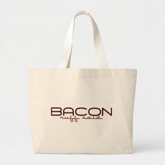 BACON CANVAS BAG