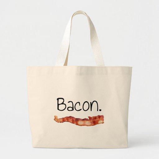 Bacon. Tote Bags