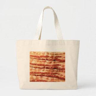 bacon, canvas bags