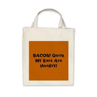Bacon Bag Template