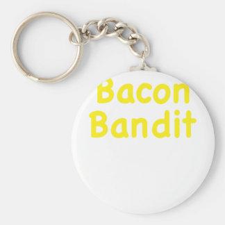 Bacon Bandit Key Chain